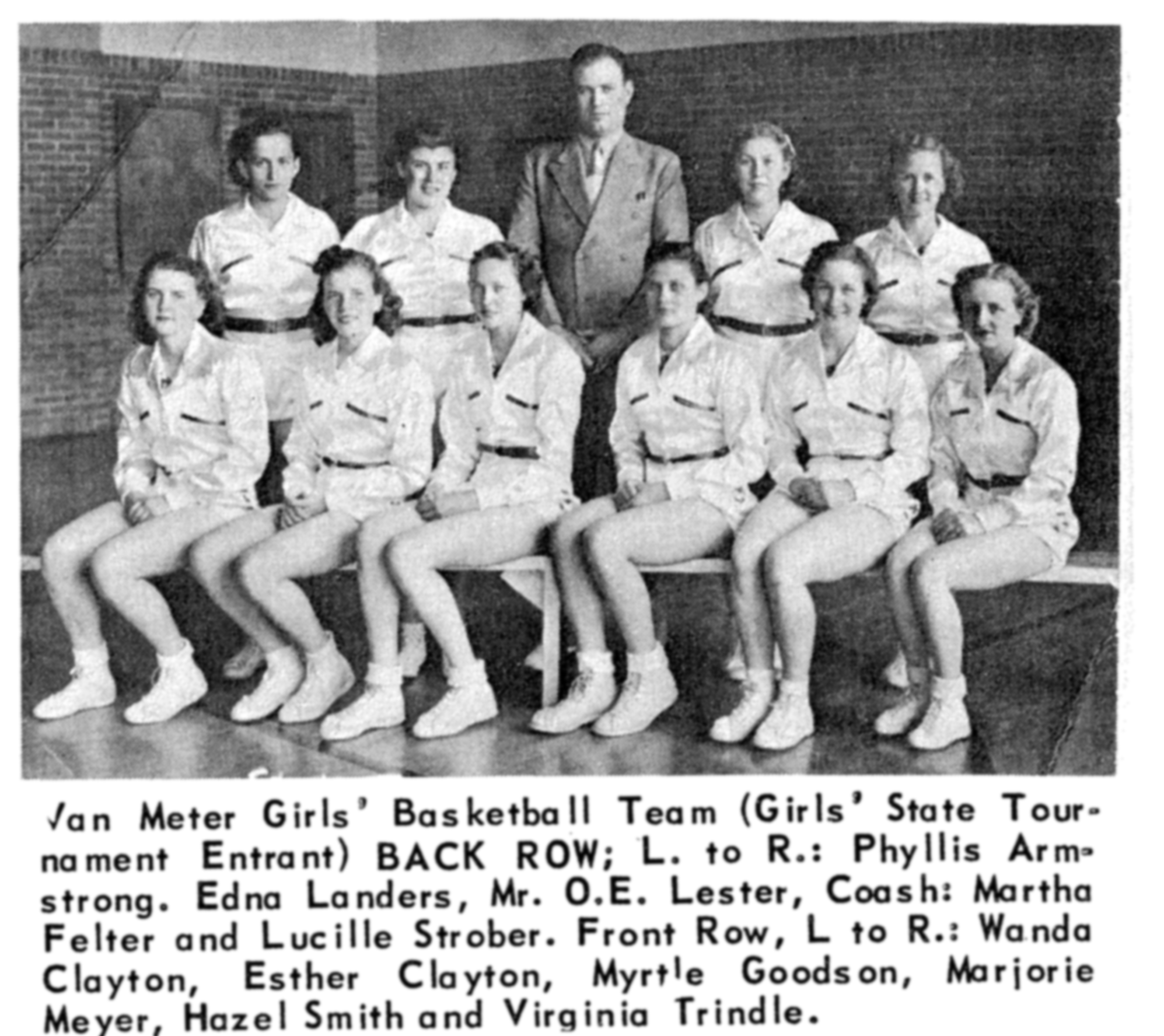 1939 Girls basketball