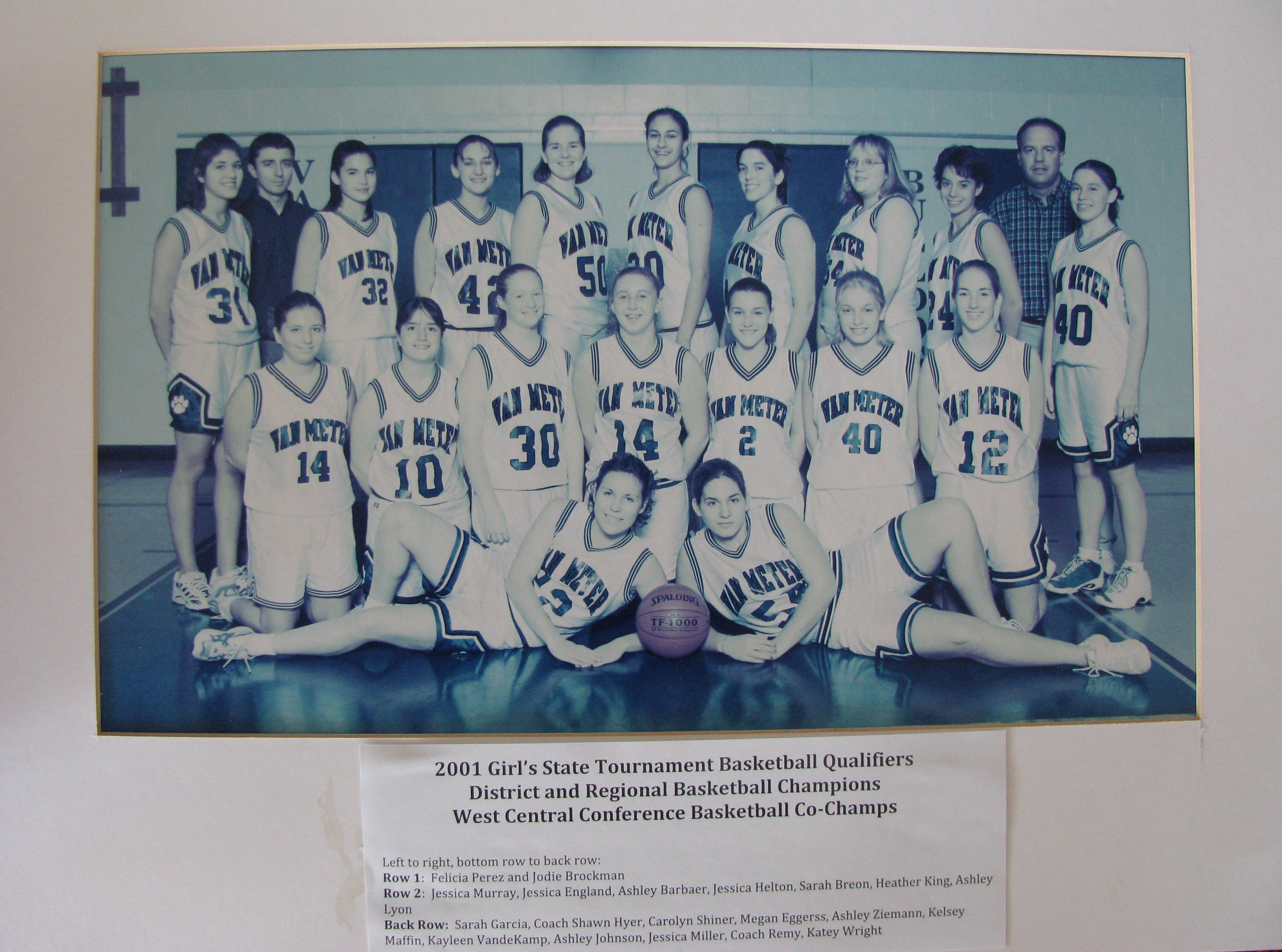 2001 girls basketball
