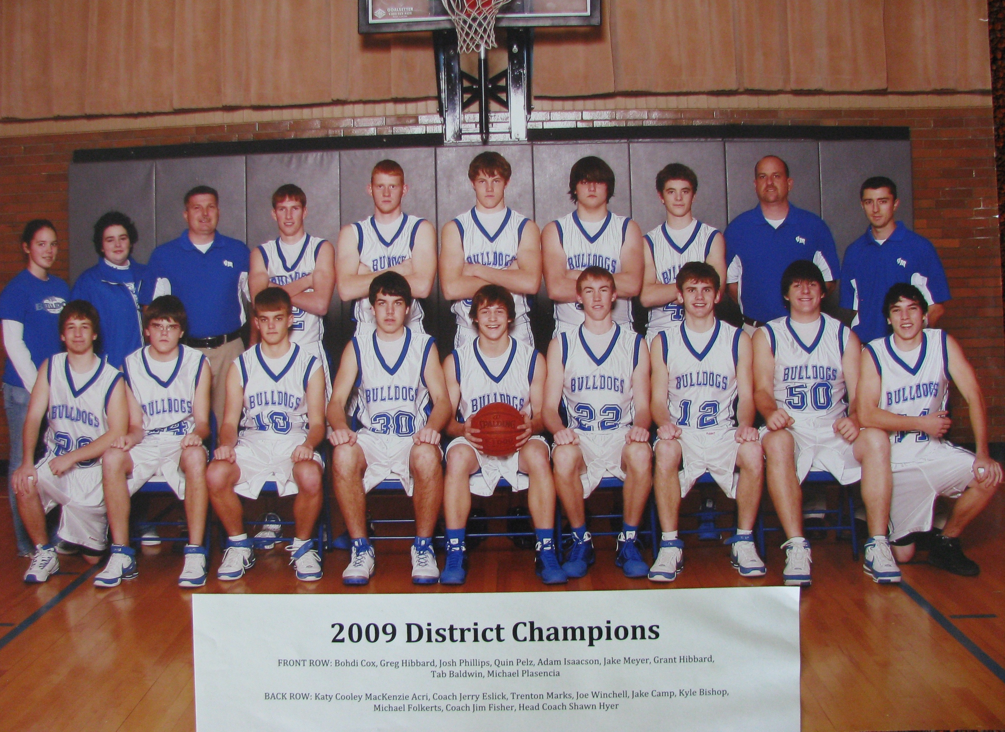 2009 boys basketball