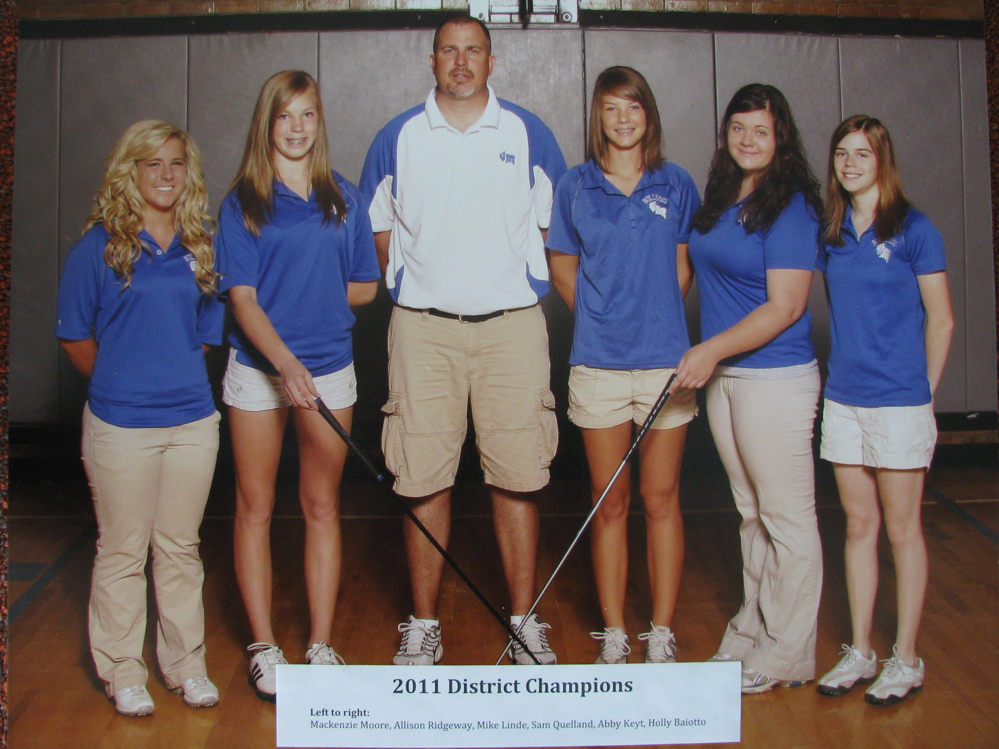 2011 Girls golf